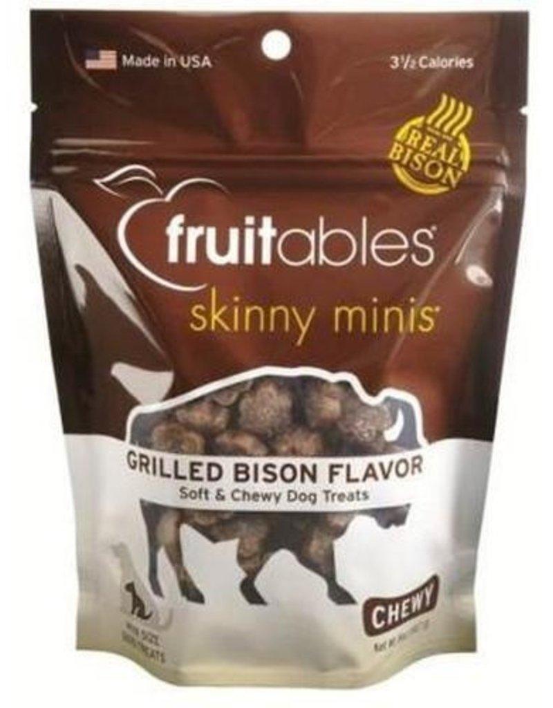Fruitables Skinny Minis Grilled Bison Treats 5oz