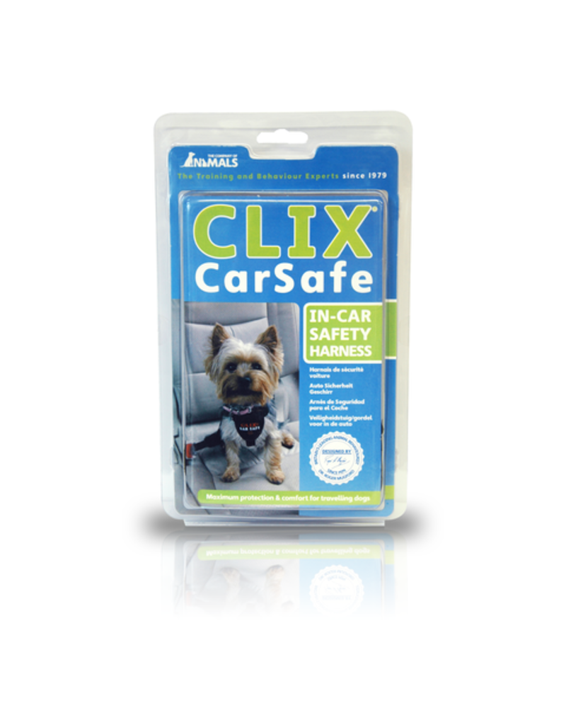 The Company of Animals Clix CarSafe Harness XS Black