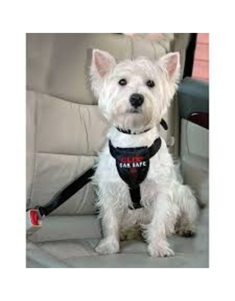 The Company of Animals Clix CarSafe Harness Small Black