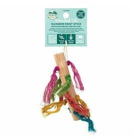 Oxbow Oxbow Chews Rainbow Knot Stick