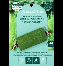 Oxbow Oxbow Chews Crinkle Barrel W/ Apple Sticks