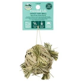 Oxbow Animal Health Enriched Life Crazy Hay Ball