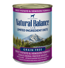 Natural Balance Sweet Potato & Venison Can 13oz