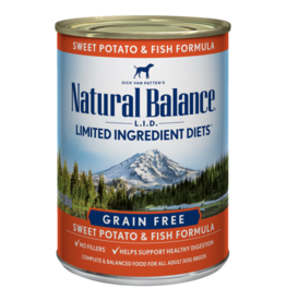 Natural Balance Sweet Potato & Fish Can 13oz