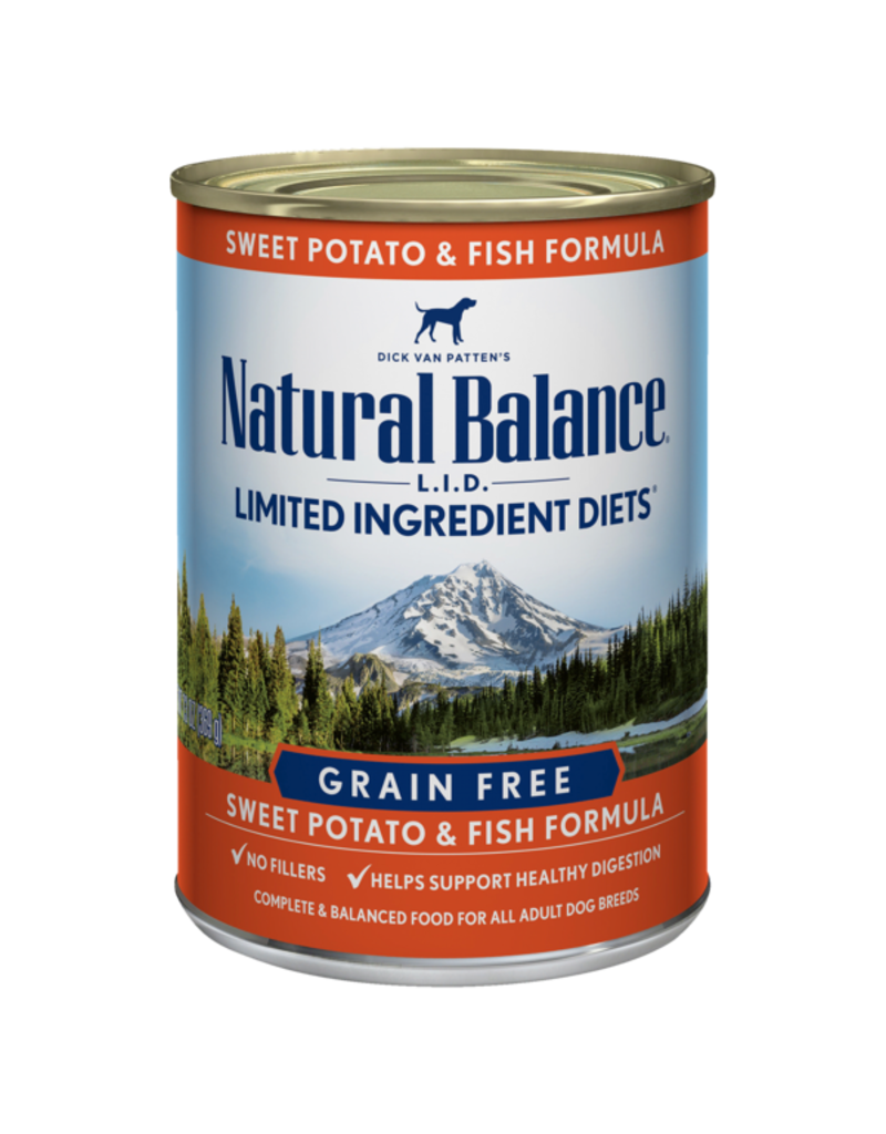 Natural Balance Sweet Potato & Fish Can 13oz