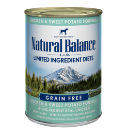 Natural Balance Chicken & Sweet Potato Can 13oz