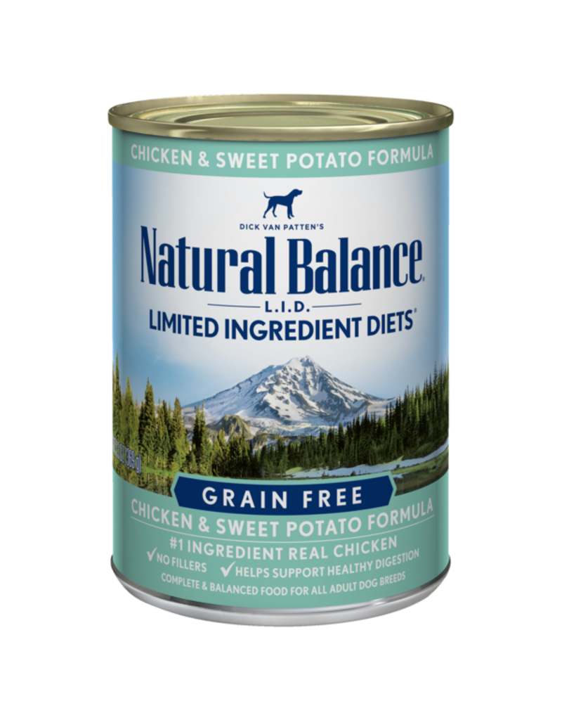 Natural Balance Chicken & Sweet Potato Can 13oz