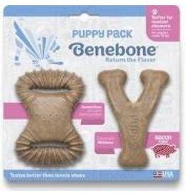 Benebone Puppy Dental Chew & Wishbone Tiny 2-Pack