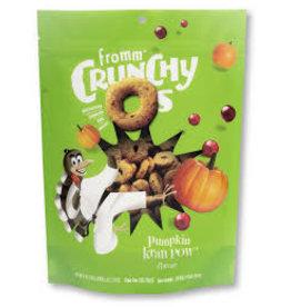 Fromm Family Crunchy O's Pumpkin Kran Pow 6oz