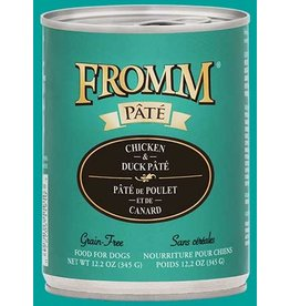 Fromm Chicken & Duck Pate' 12.2oz