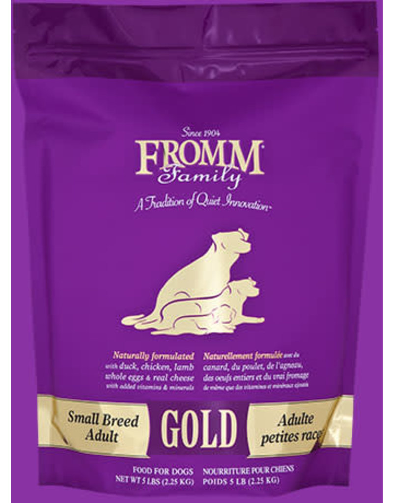 Fromm Gold Small Breed Adult 5lb