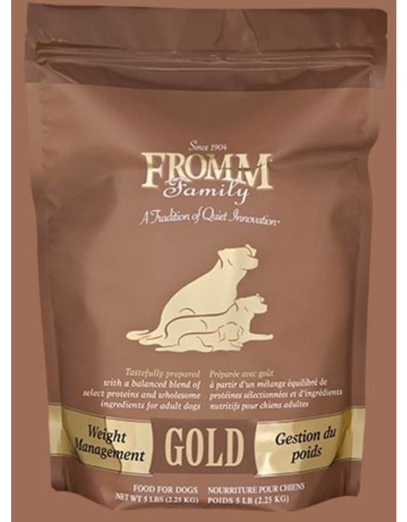 Fromm Gold Weight Management 15lb