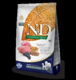 Farmina Ancestral Grain Lamb & Blueberry Medium/Maxi  26.5lb