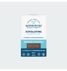 Wondercide Exfoliating Shampoo Bar with Neem & Patchouli 4oz