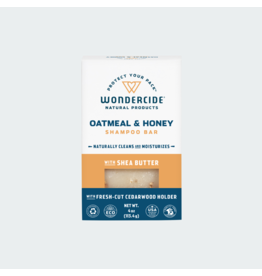 Wondercide Oatmeal & Honey Shampoo Bar with Shea Butter 4oz