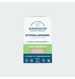 Wondercide Hypoallergenic Shampoo Bar with Aloe & Coconut 4oz