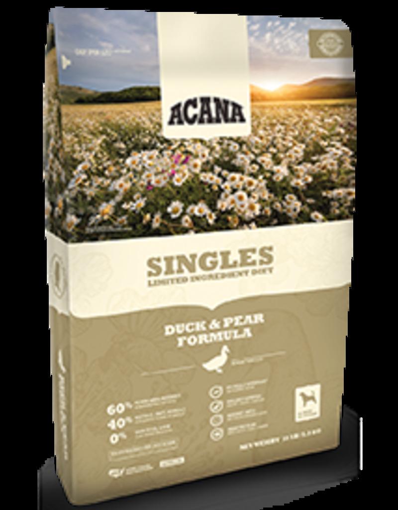 Acana Singles Duck & Pear 4.5lb