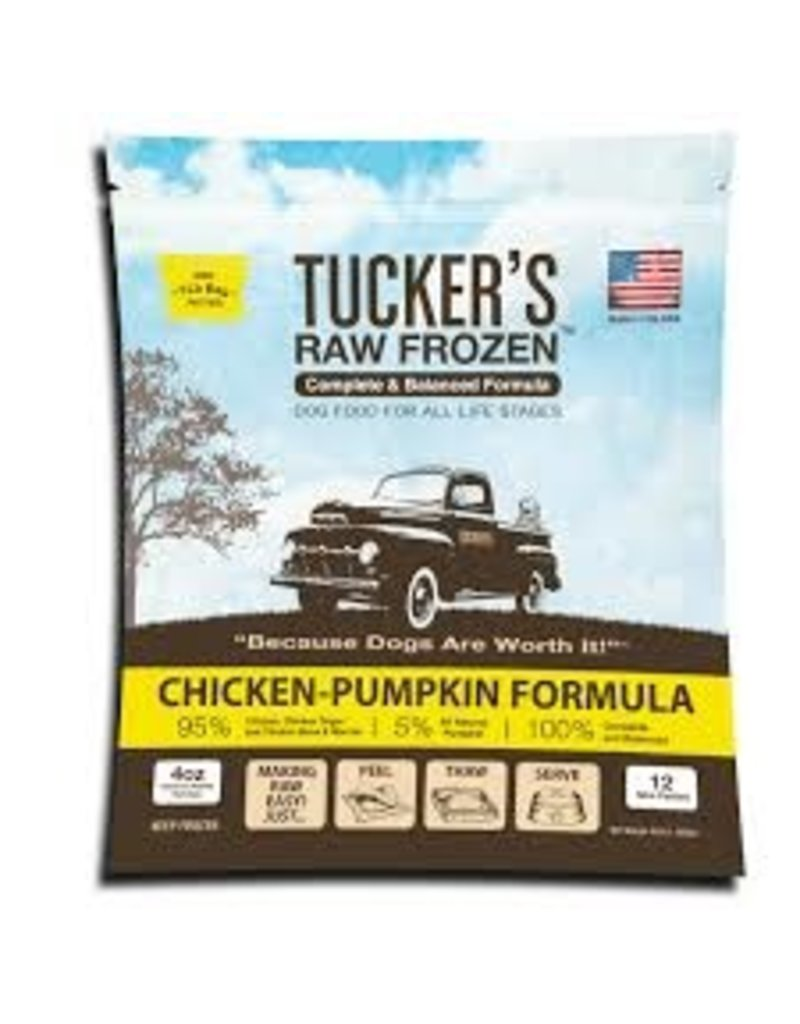 Tuckers Chicken & Pumpkin 6lb