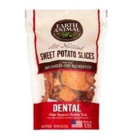 Earth Animal Sweet Potato Organic Dental Treat 8oz