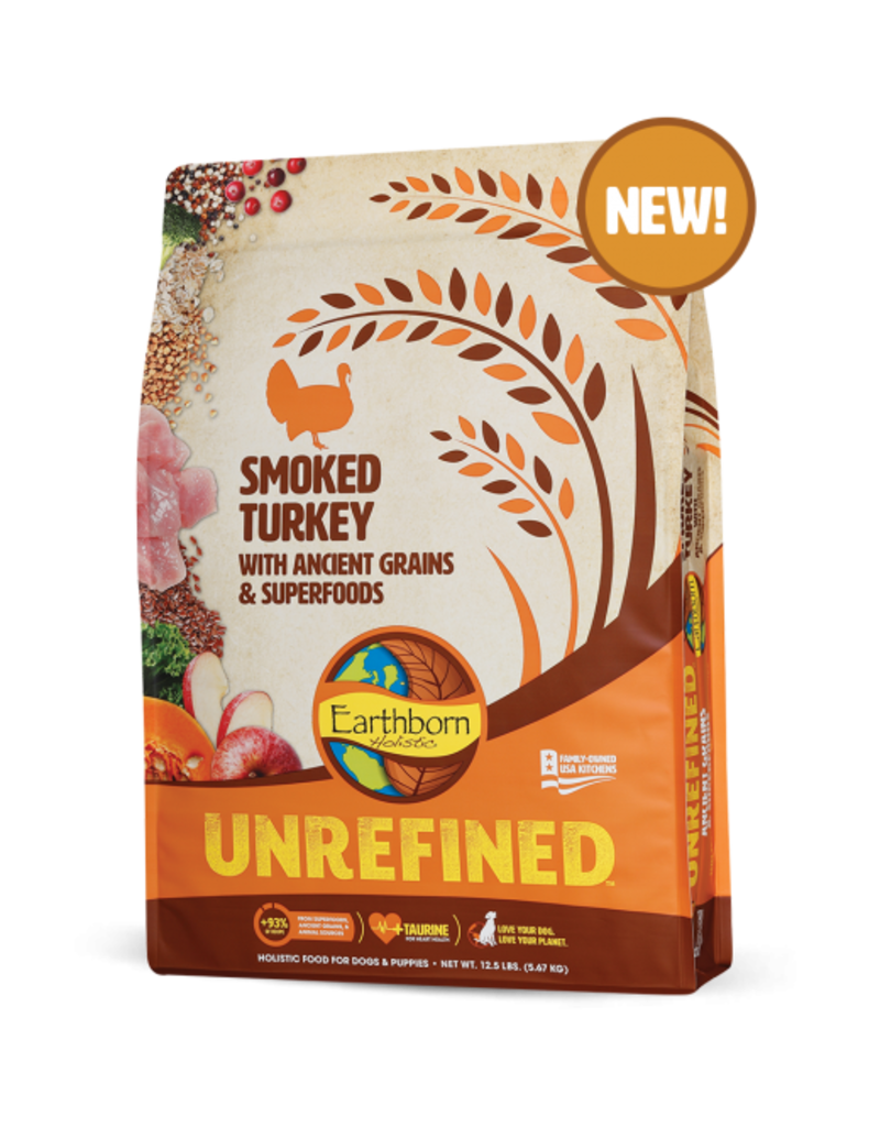 Earthborn Unrefined Smoked Turkey 25lb