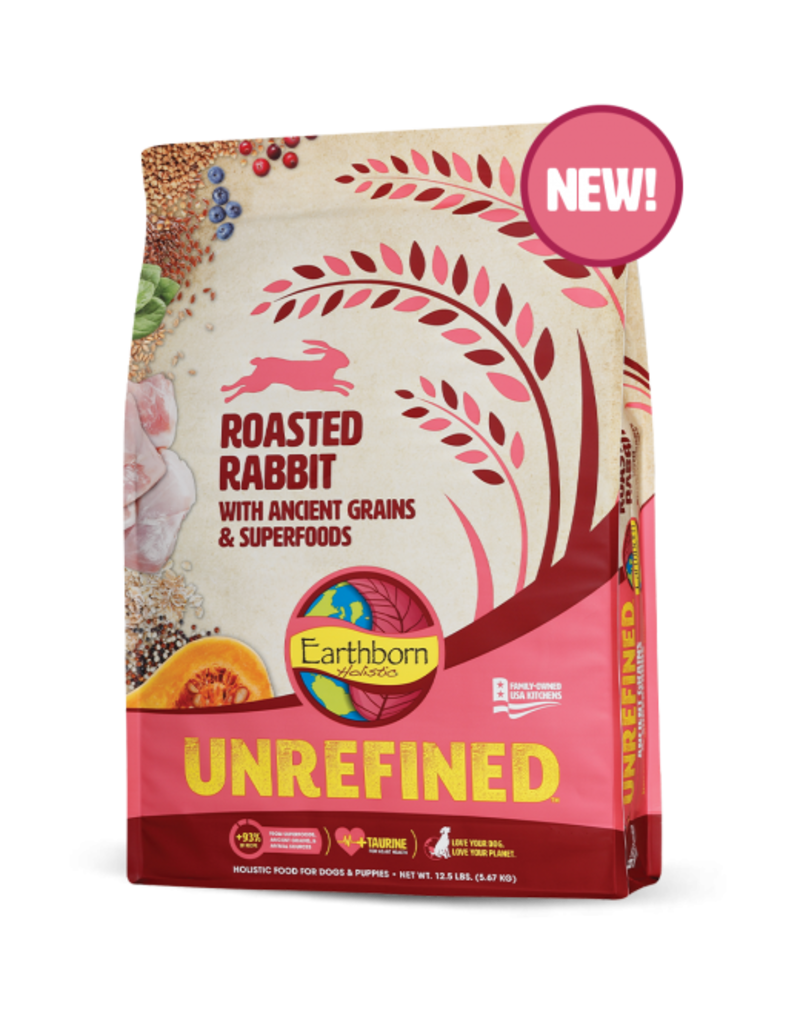 Earthborn Unrefined Roasted Rabbit 25lb