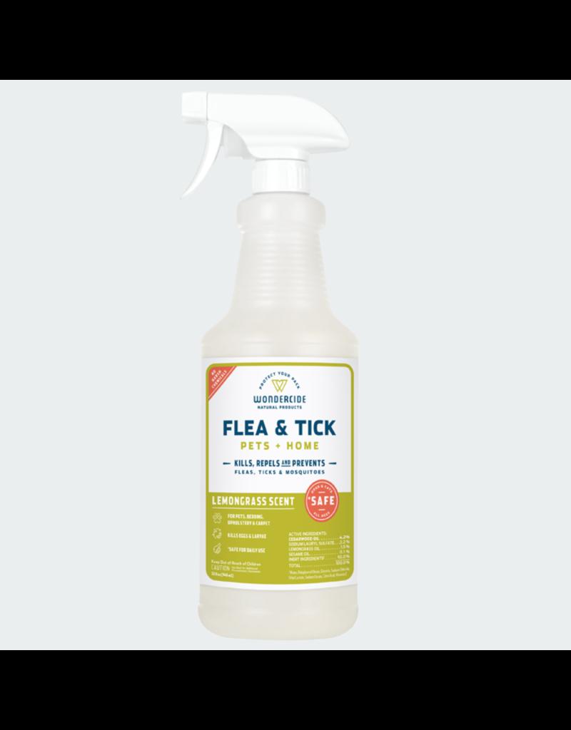 Wondercide Lemongrass Flea Tick & Mosquito Spray 16oz