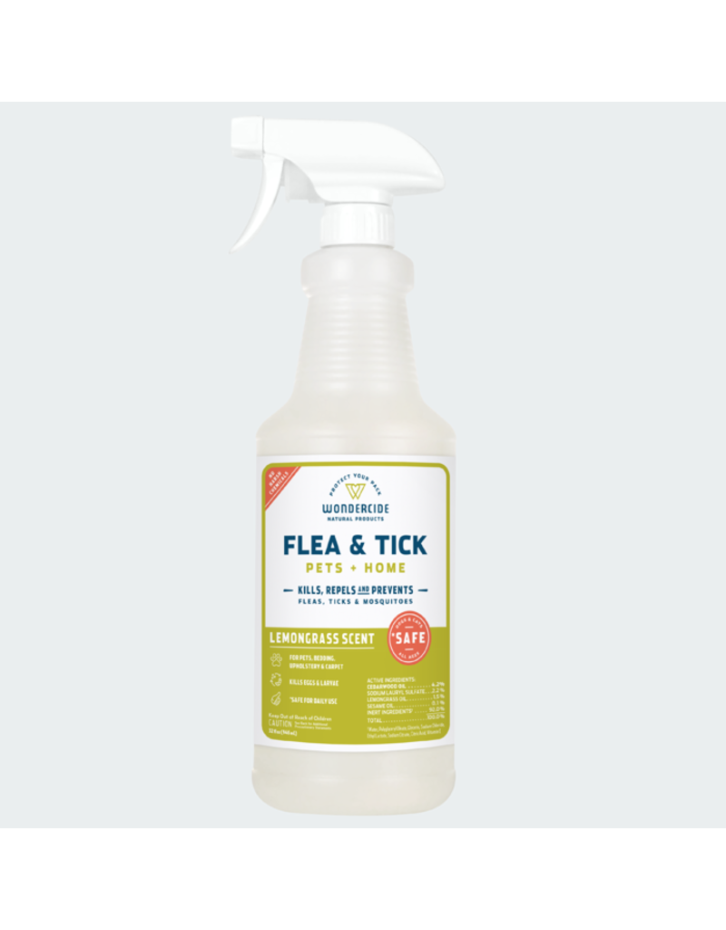 Wondercide Lemongrass Flea & Tick Spray 16oz