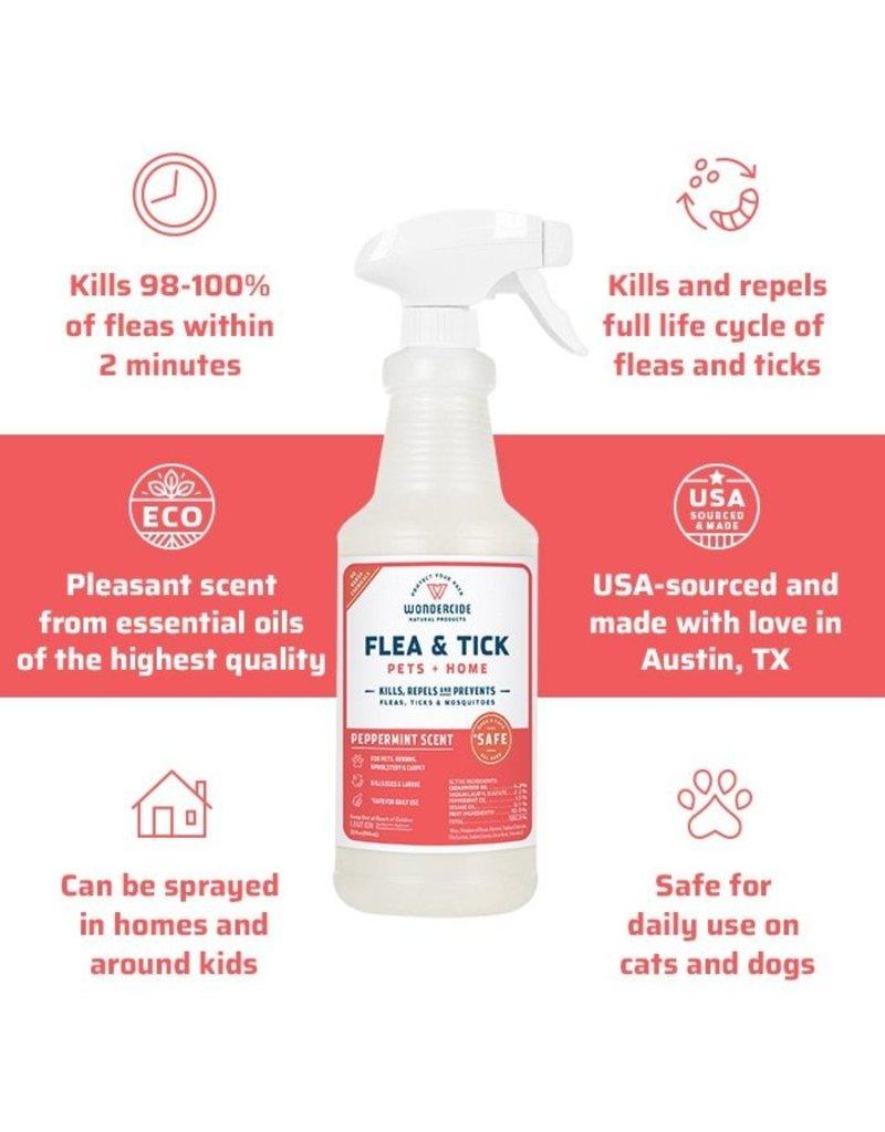 Wondercide Peppermint Flea Tick & Mosquito Spray 16oz