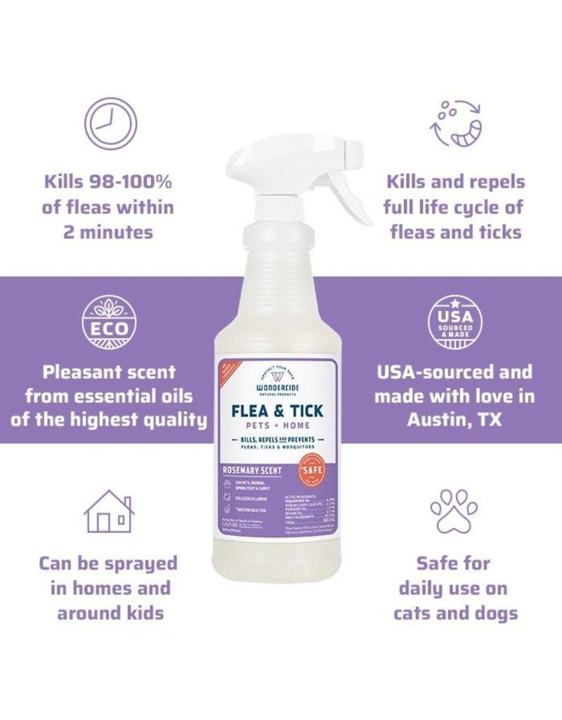 Wondercide Rosemary Flea Tick & Mosquito Spray 16oz