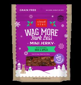 Cloud Star Wagmore Mini Jerky: Duck & Apples 4oz