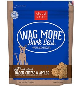 Cloud Star Wag More Bacon Cheese & Apple Biscuits 3lb