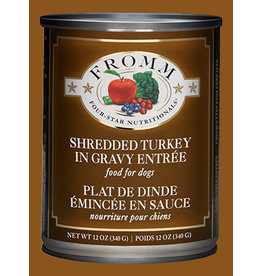 Fromm Shredded Turkey in Gravy Entree' 12oz