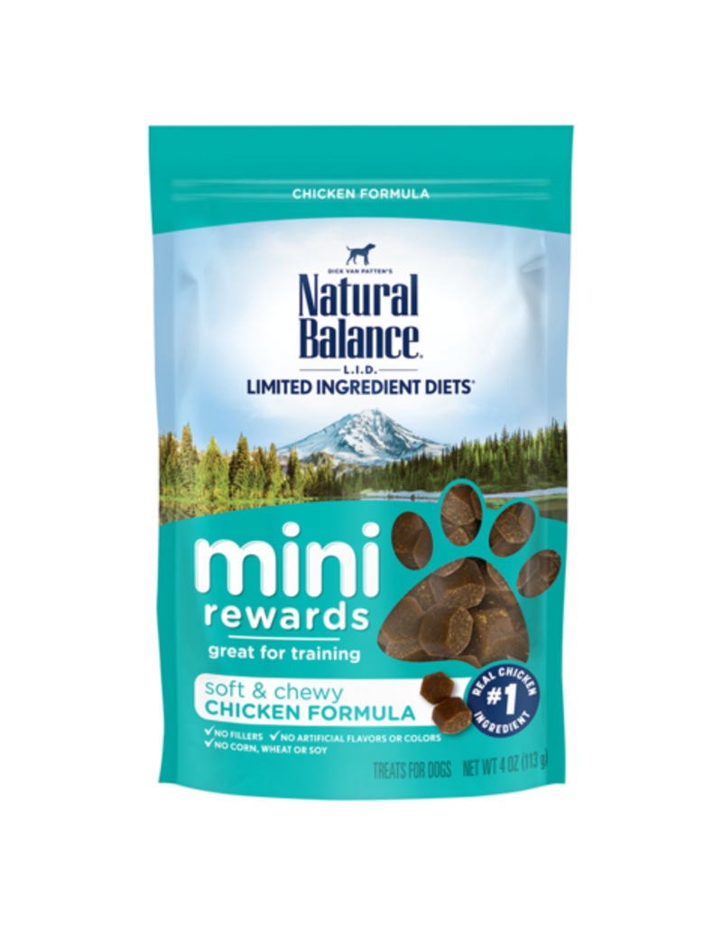 Natural Balance Mini Rewards Chicken 4oz