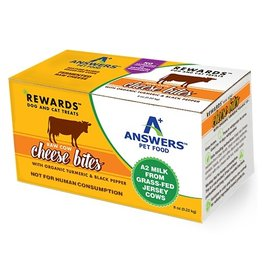 Answers Cow Cheese Treats with Tumeric & Black Pepper 8oz