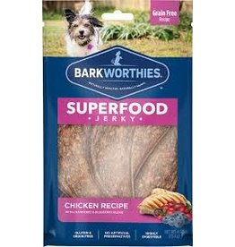 Barkworthies Chicken Jerky with Cranberry & Blueberry 4oz