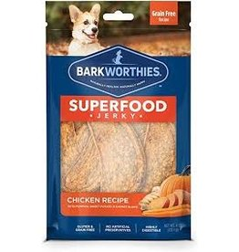 Barkworthies Chicken Jerky with Pumpkin 4oz