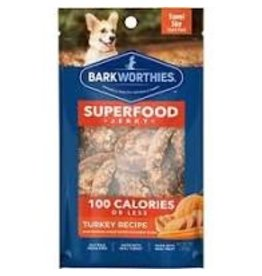 Barkworthies 100 Calorie Turkey Jerky with Pumpkin, Sweet Potato & Carrot 1oz