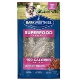 Barkworthies 100 Calorie Turkey Jerky with Cranberry & Blueberry