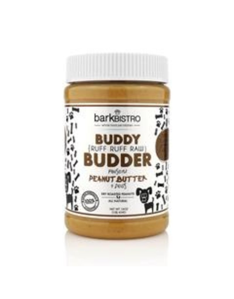 Bark Bistro Buddy Budder Ruff Ruff Raw 16oz