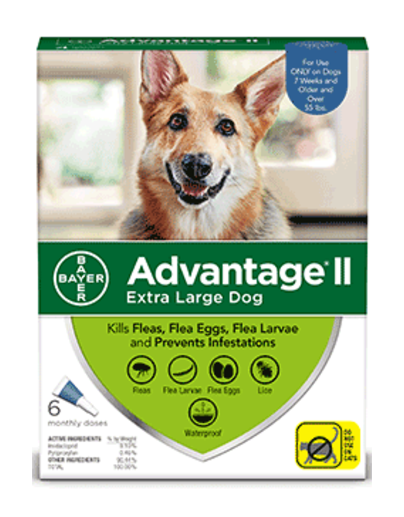 Bayer Advantage II Flea Treatment - Topical - XL - 6pk