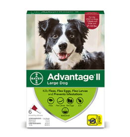 Bayer Advantage II Flea Treatment - Topical - Large - 6pk