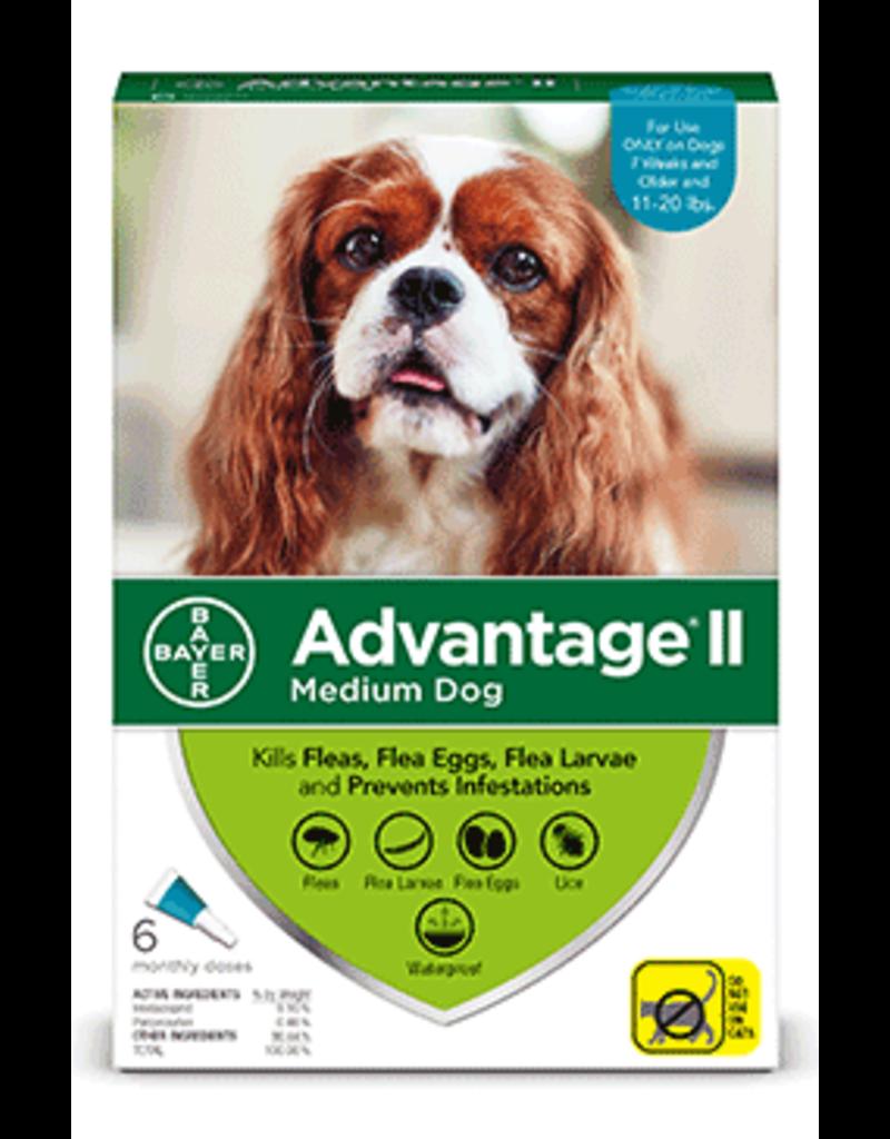 Bayer Advantage II Flea Treatment - Topical - Medium - 6pk