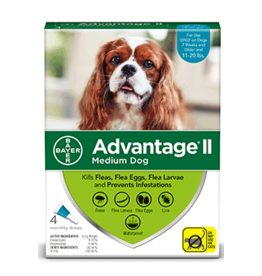 Bayer Advantage Il Flea Treatment - Topical - Medium - 4pk