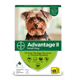 Bayer Advantage II Flea Treatment - Topical - Small - 6pk