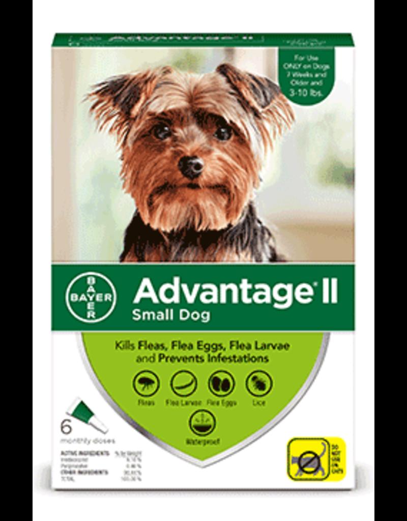 Bayer Advantage II Flea Treatment - Topical - Small - 6pk