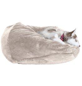 FurHaven Plush Ball Bed - XL - Gray