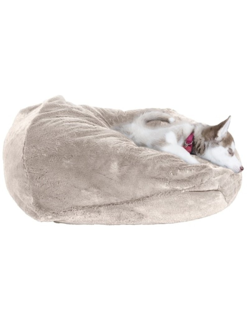 FurHaven Plush Ball Bed - XL - Gray