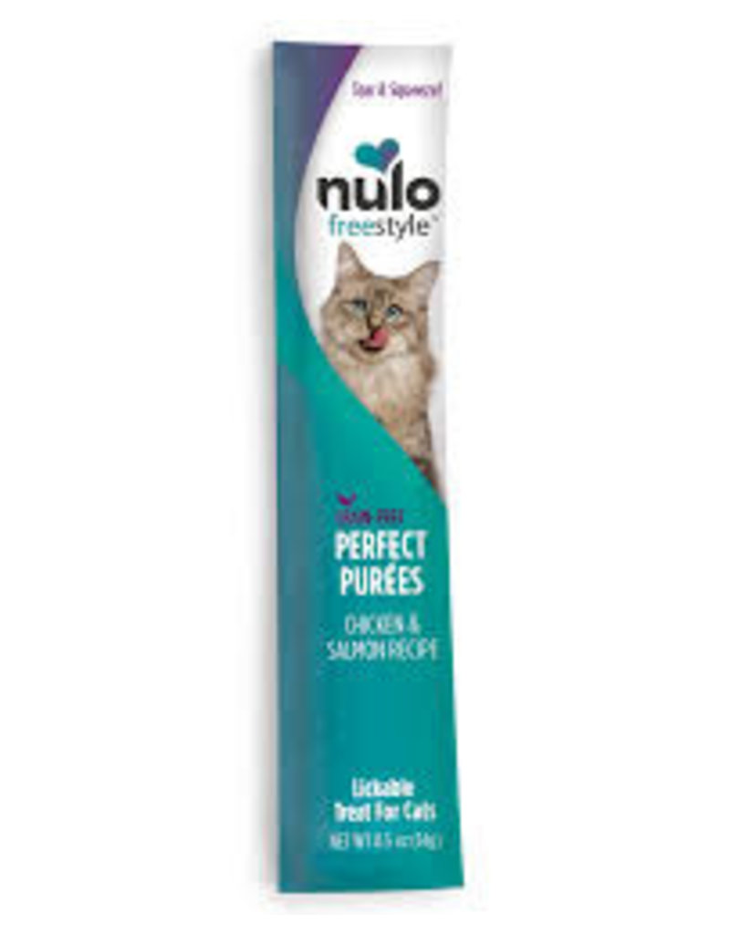 Nulo Freestyle Perfect Puree Chicken & Salmon .5oz