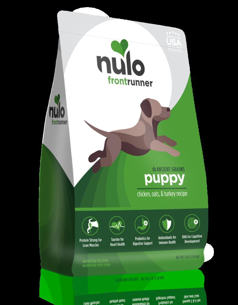 Nulo Frontrunner Puppy Chicken Oats & Turkey 11lb