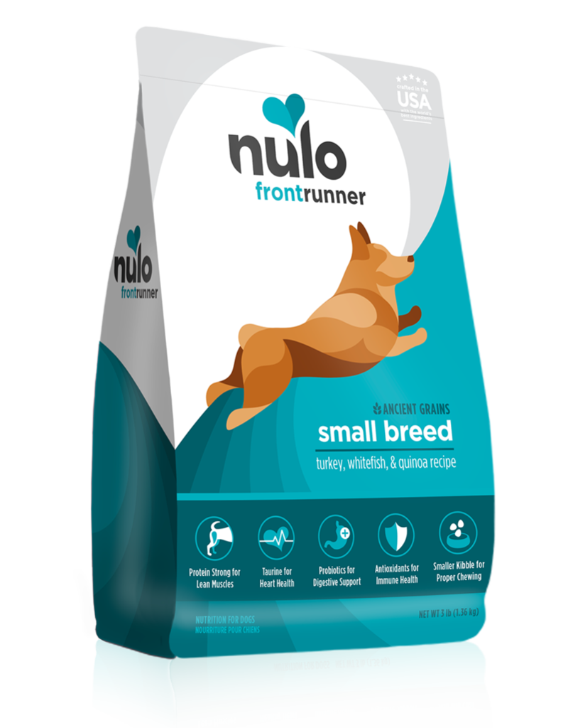 Nulo Frontrunner Small Breed Turkey Whitefish & Quinoa 3lb